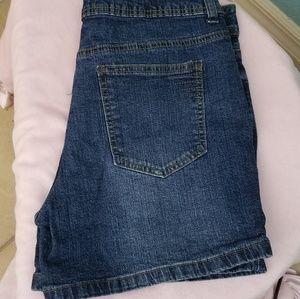 St John's Bay Denim Shorts